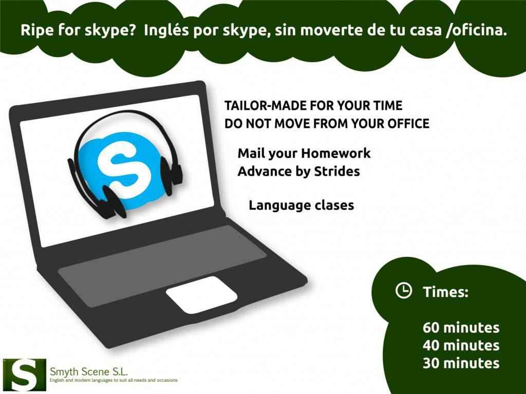 Clases de idiomas por Skype