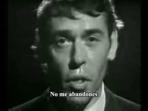 Ne me quitte pas. Jacques Brel. Practicar francés con canciones.