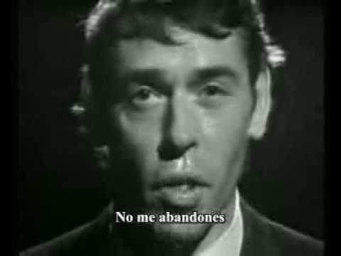 (Español) Ne me quitte pas. Jacques Brel. Practicar francés con canciones.