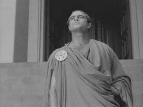 Fragmentos de literatura:Julio César de Shakespeare por Marlon Brandon
