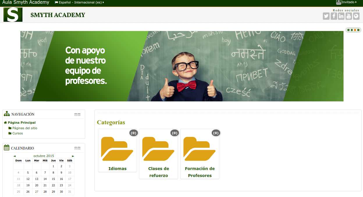Clases de refuerzo en el sistema español