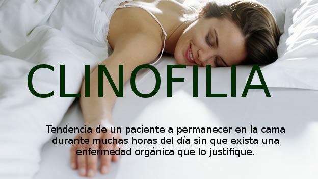clinofilia