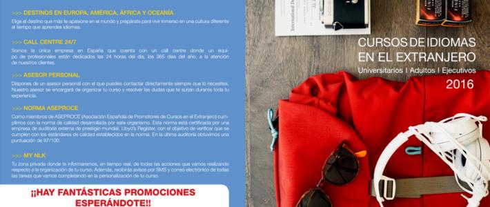 (Español) Cursos de idiomas en el extranjero para universitarios y adultos.