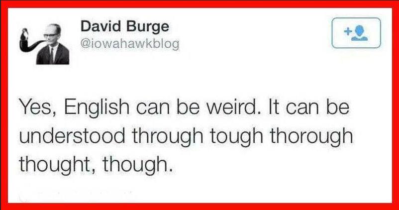 englishweird