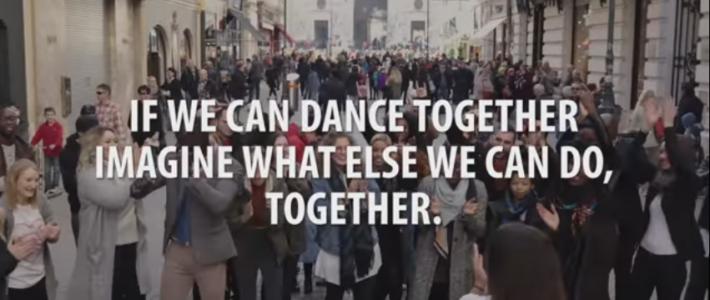 (Español) Si podemos bailar juntos, imagina todo lo que podemos hacer juntos.