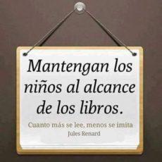 Mantengan los niños al alcance de los libros