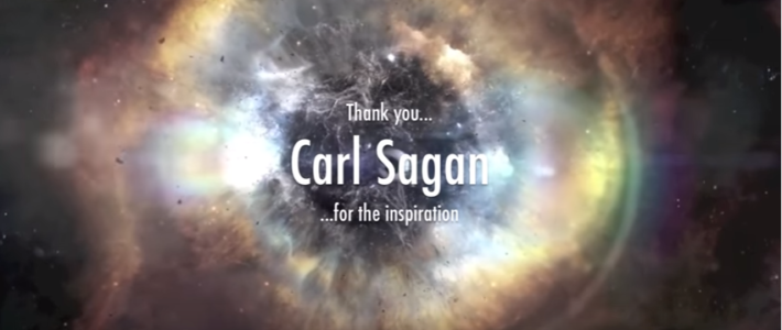 """Carl Sagan: """"Science is more than a body of knowledge, it's a way of thinking."""""""