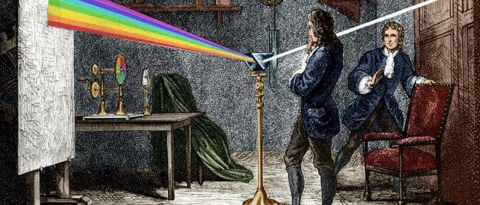 """Keats se quejó porque Newton había """"destejido el arco iris"""" al explicar cómo se formaba"""