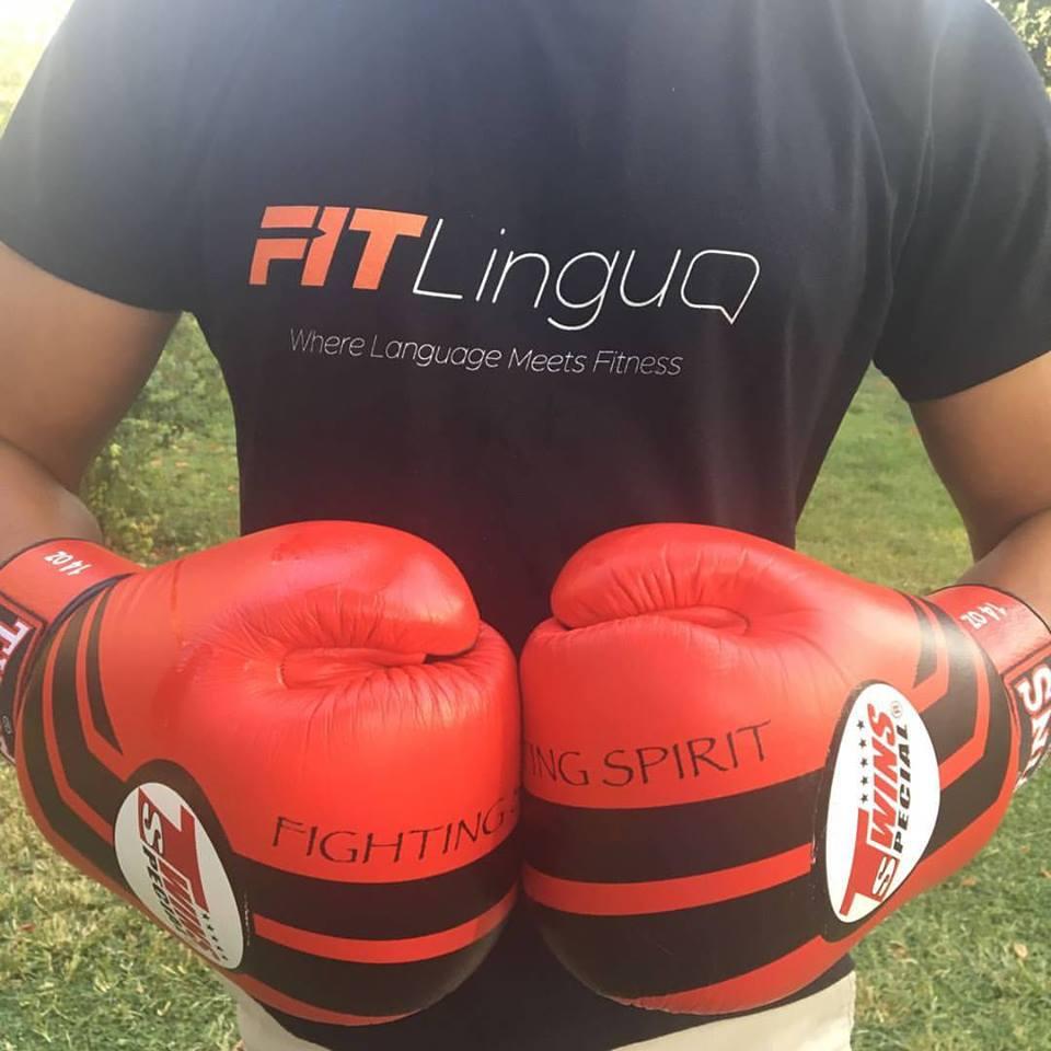 Fit Lingua: divertida combinación de inglés y boxeo.