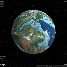 La evolución de la Tierra.