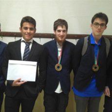 Medalla de Oro para España en la Olimpiada Internacional de Física.