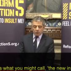 """Rowan Atkinson. Gran discurso sobre la libertad de expresión y el """"ofenderse"""". ENG"""