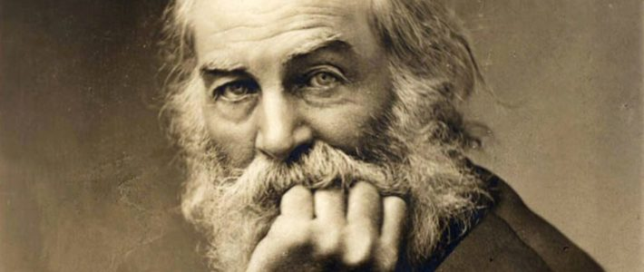 """Do not let me"" de Walt Whitman."