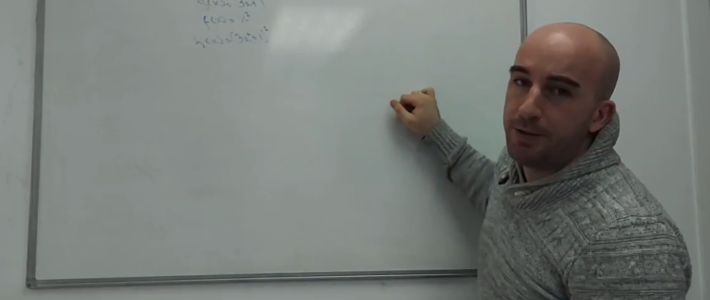 Matemáticas: regla de la cadena.