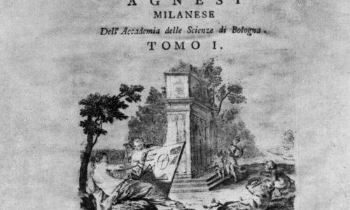 Maria Agnesi, una matemática precoz en el s. XVIII.