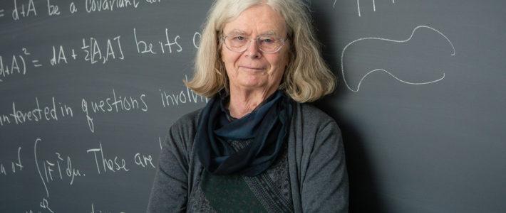 Karen Uhlenbeck, primera mujer ganadora del Premio Abel, considerado Nobel de las matemáticas.