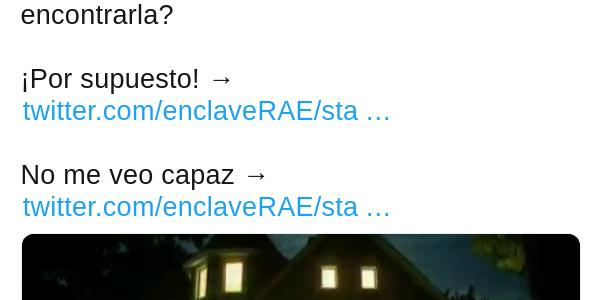 Los desafíos de la RAE en Twitter.