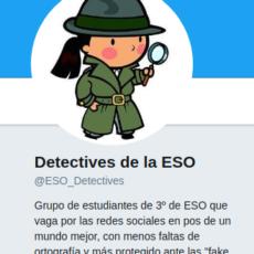 """""""Detectives de la ESO"""": los defensores de la ortografía en las redes sociales."""