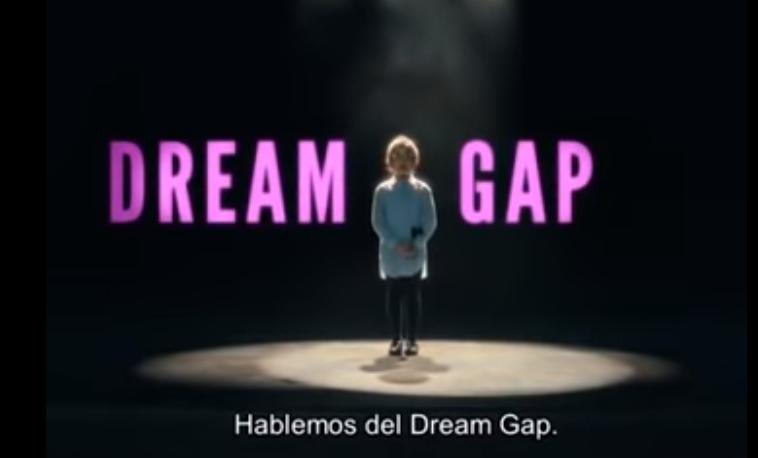 """""""Dream Gap"""", la campaña de Barbie para eliminar la brecha de género."""