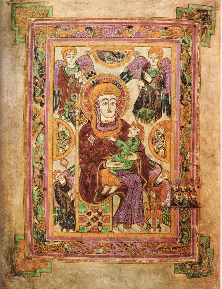 """Ya podemos disfrutar de la versión digital del manuscrito medieval """"El libro de Kells"""""""